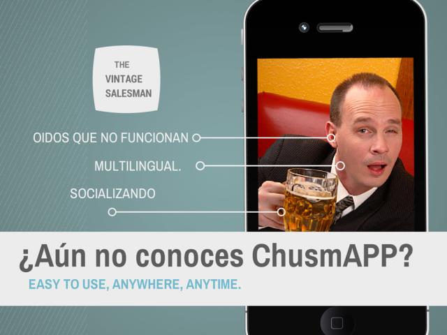 ¿Aún no conoces ChusmAPP.